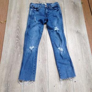 Gap 1969 Hi-rise Destructed jeans